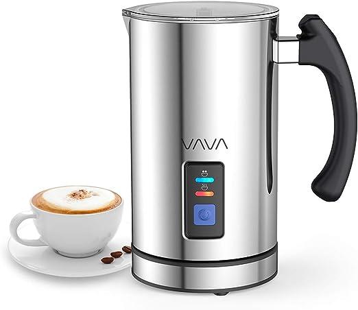 Vava montalatte elettrico 500w 240ml schiumatore acciaio inox caffè latte caldo freddo IT VA-EB008