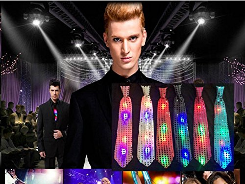 Led Light Up Neckties in US - 8