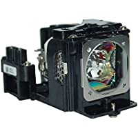 AuraBeam BL-FS220B Projector Lamp with Original Bulb and Compatible Housing for Optoma Projectors TW1692 TX7156