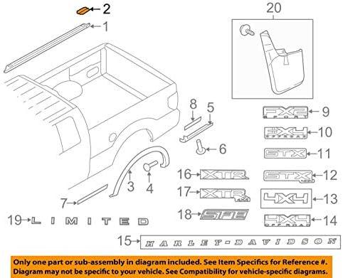Genuine Ford Upper Molding Plug 5L3Z-99290D90-AAA