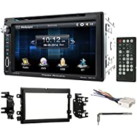 """0810 Ford 250/350/450/550 In-Dash 6.5"""" DVD/CD Player Receiver Monitor wBluetooth"""