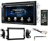 """power acoustik wiring harness - 6.5"""" DVD/CD Player Receiver Monitor w/Bluetooth For 2008-10 Ford 250/350/450/550"""