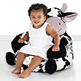 Trend Lab Kids Plush Character Chair, Cow