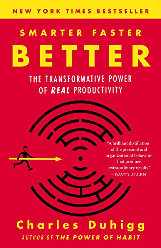 SMARTER FASTER BETTER by Charles Duhiff (2016) (Audiobook)