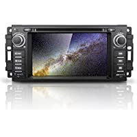 Android 7.1 Nougat Car stereo - Corehan In Dash Car Radio CD DVD Player Navigation System with 6.2 LCD Bluetooth Wifi GPS for Jeep Wrangler Chrysler Dodge