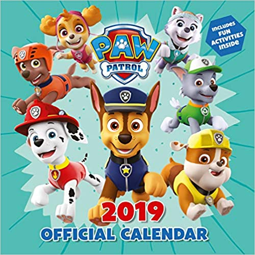 Paw Patrol Official 2019 Calendar - Square Wall Calendar por Paw Patrol epub
