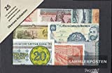 all World 25 different Banknotes out Overseas (Banknotes for collectors)