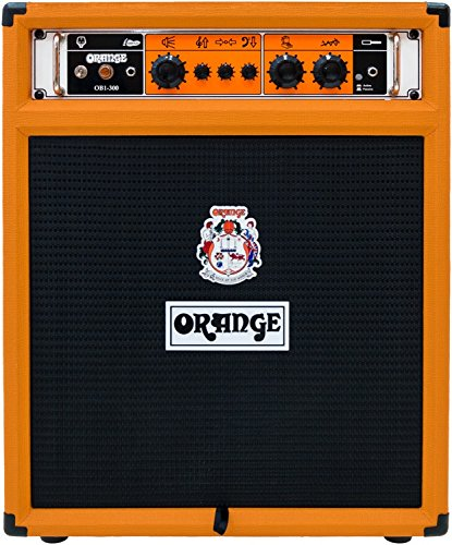 Orange OB1-300C 1×15″ 300W Bass Guitar Combo Amplifier Speaker, Orange