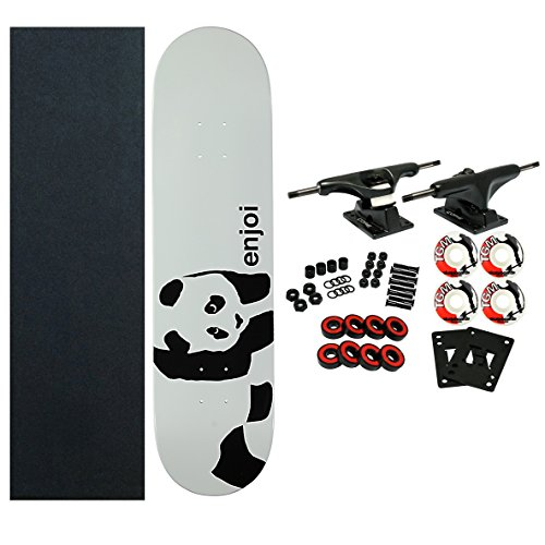 ENJOI Skateboards WHITEY PANDA Complete SKATEBOARD New!