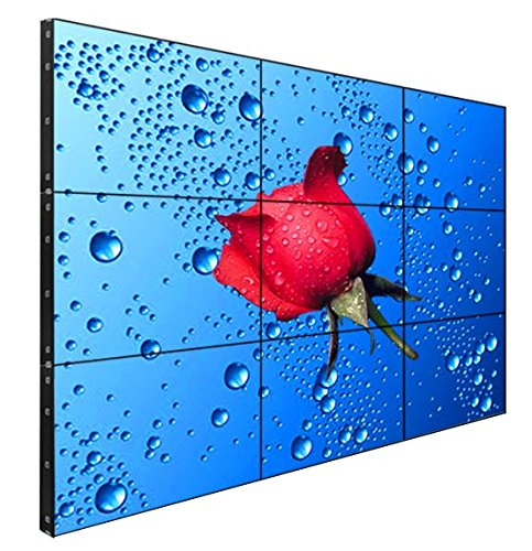 "FOLAIDA 46"" display 3.5mm Bezel Video Wall 1080P HDMI VGA DV"