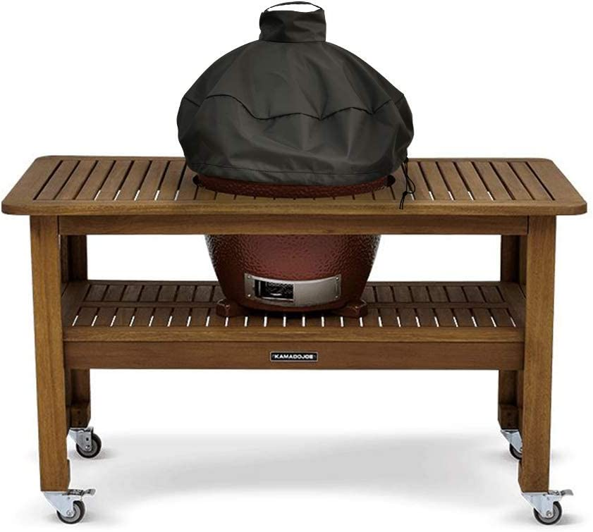 2 Year no BS Warranty! Dome Cover to Fit Large Kamado Joe /& Big Green Egg Grills On Tables Or Islands Premium Products Brand