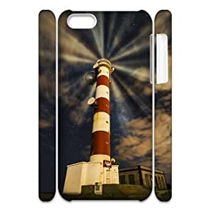 DIYYuli(RM) Unique Design Custom Bright Beacon Lighthouse 3D Hard Back Cover Case for Iphone 5C - KkUi128035