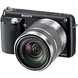 Sony NEX-F3K/B 16.1 MP Mirrorless Digital Camera with 18-55mm Lens (Black)