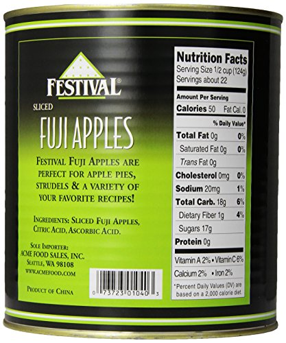 Festival Sliced Fuji Apples, 6-Pound (Pack of 2) by Festival (Image #3)
