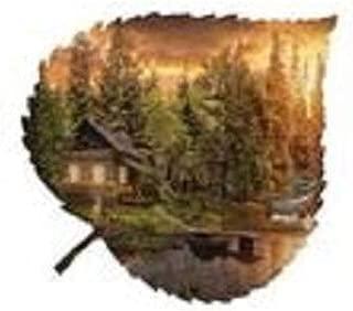 product image for Cabin Medium Aspen Leaf Wall Art