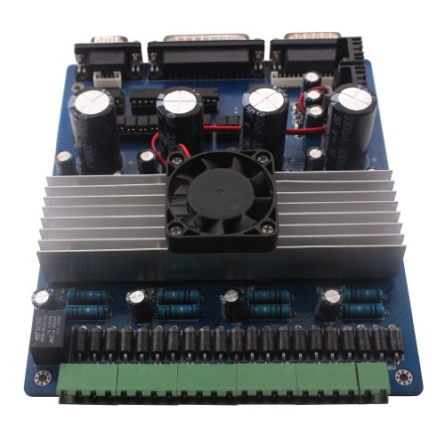 Cnc 4 Axis Tb6560 Stepper Motor Driver Board With 4pcs Cnc: 4 axis stepper motor controller