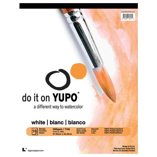 YUPO Polypropylene Pad Medium 74# 5X7 (Packaging May Vary)