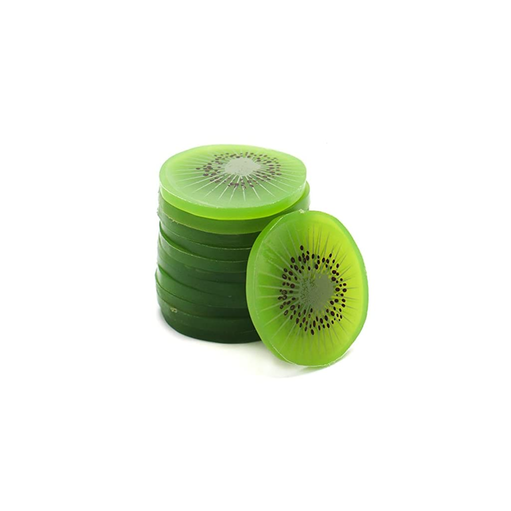 Buorsa-12-Pcs-Artificial-Kiwi-Slice-Simulation-Fruit-Slice-Model-for-Home-Party-Decoration