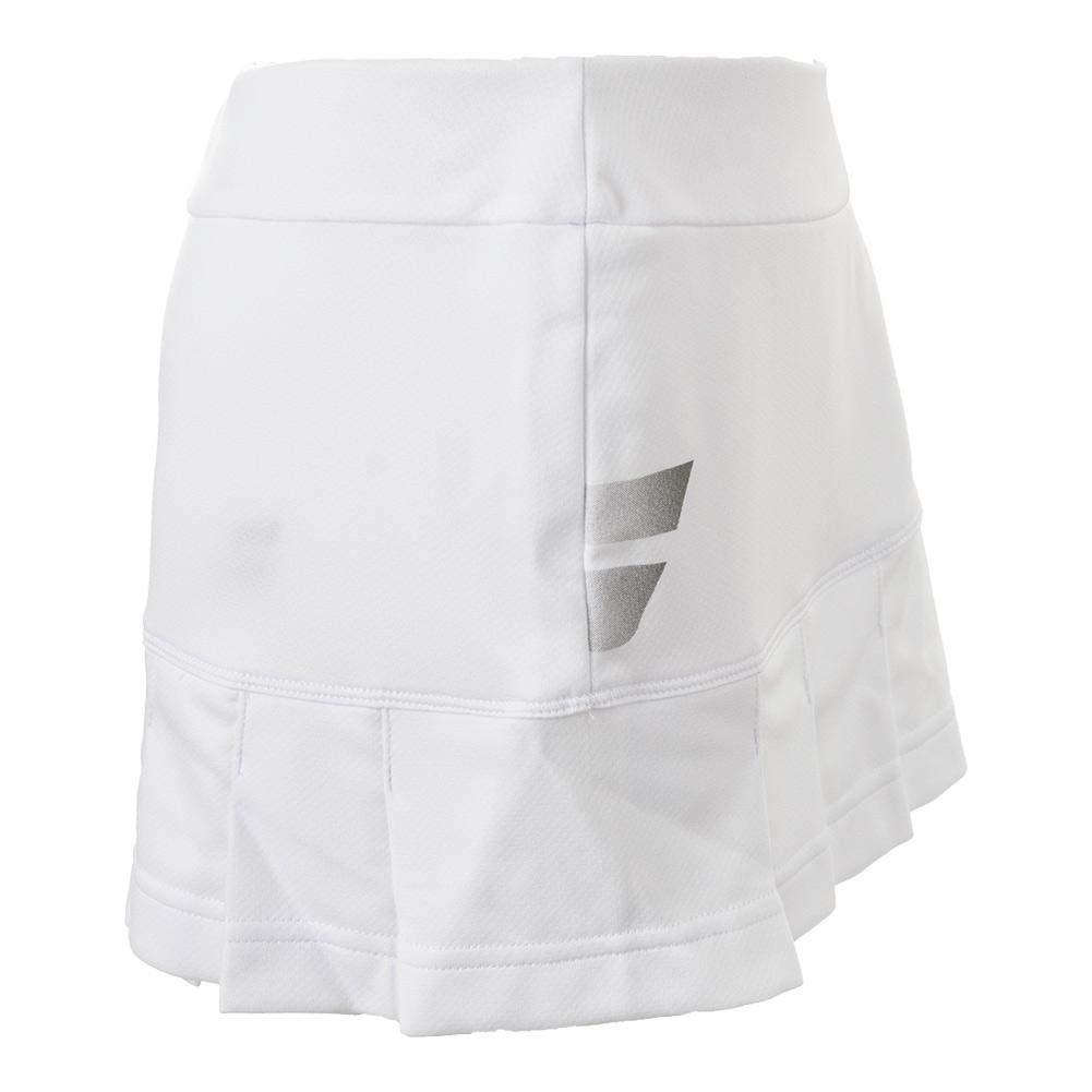 Babolat Core Junior Falda Falda Ropa de tenis Blanco, Blanco/Azul/Rojo, 12 Años: Amazon.es: Deportes y aire libre