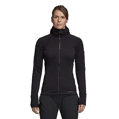 39b7d47f9 Amazon.com: adidas outdoor Women's Terrex Stockhorn Fleece Jacket ...