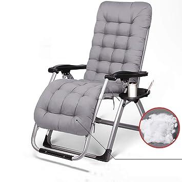 GJC Sillón reclinable Silla Plegable Pausa para la Siesta ...