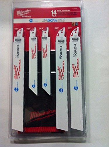 Milwaukee 49-22-1131 14 Piece Ice Edge Sawzall Blade Set
