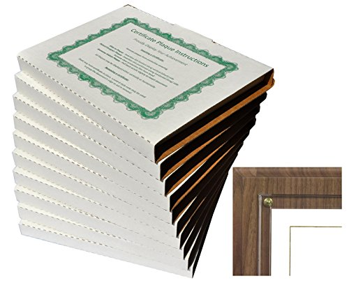 Walnut Grove Slide-in Certificate Plaque and Document Holder (10 ()