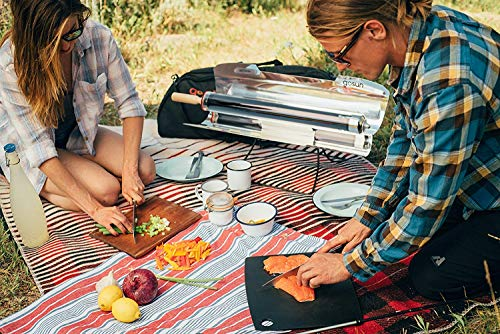 GoSun Sport - Portable Solar Cooker for Easy, Delicious, and Versatile Meals, Solar Oven Perfect for Camping - Cooks Food in as Little as 20 Minutes