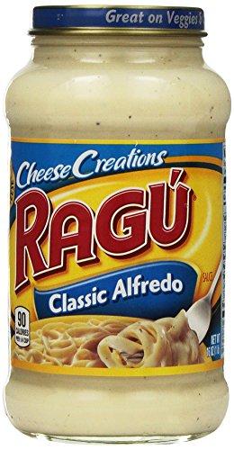 (Ragu Cheesy Classic Alfredo Sauce)