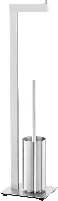 ZACK 40382 Linea Dispensador de Papel higi/énico con escobilla
