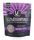 Vital Essentials Freeze-Dried Turkey Mini Nibs Grain Free Limited Ingredient Dog Entrée, 1 Pound Bag