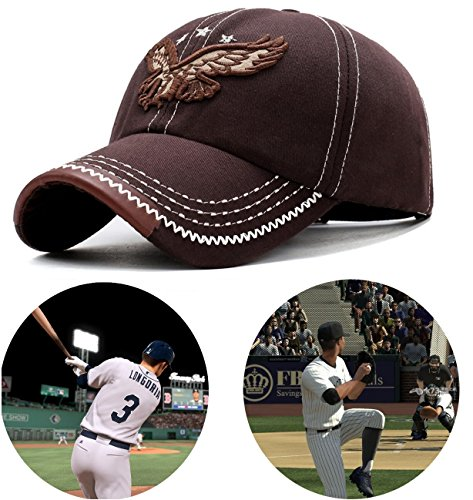 Closure Cotton Cap Buckle (Mor.Chen.Tay Baseball Caps for Men/Women - Sporting Baseball Hats with Adjustable Back Closure - Sports Hats for Men -Perfect for Workouts, Running and Outdoor Activities(Coffee))