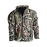 Dragon Heatwear Sahara Mens Heated Hunting Jacket - 3 Zone (XL, Mossy Oak Break Up Camo)