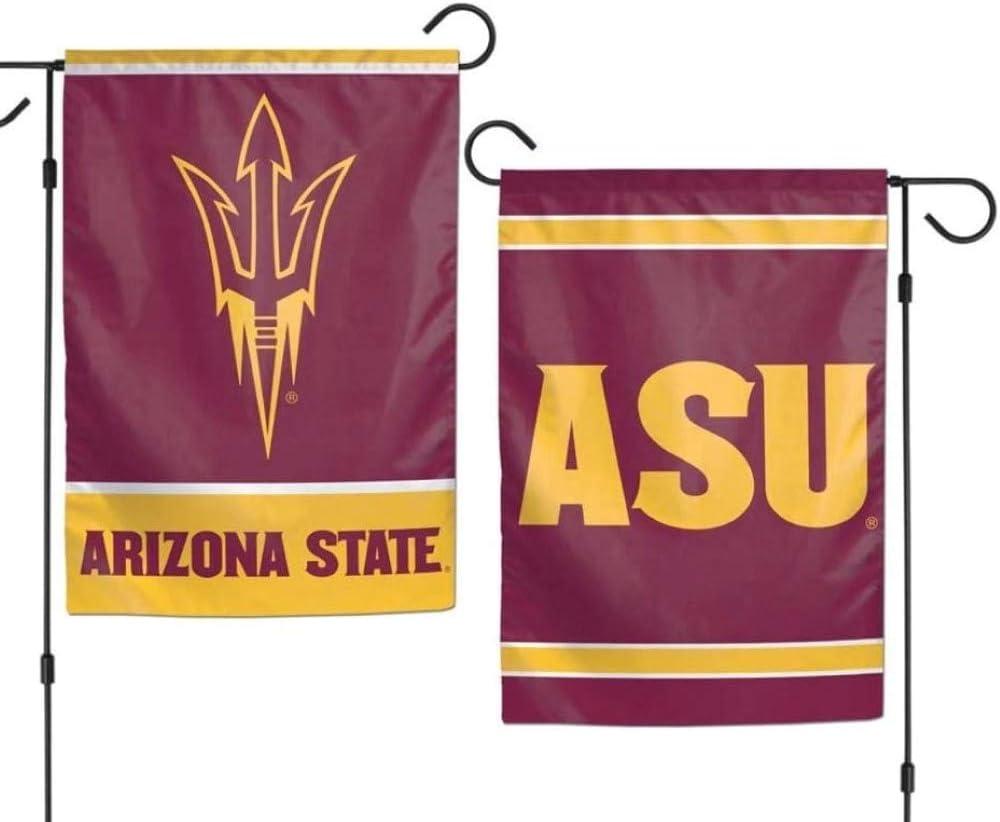 """WinCraft Arizona State Sun Devils 12""""x18"""" Garden Flag - Burgundy"""