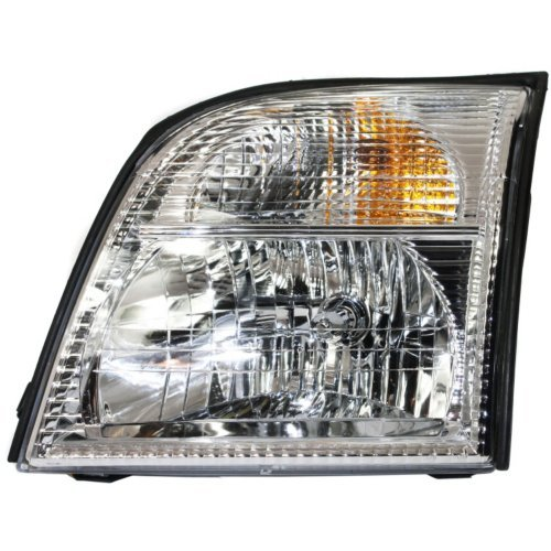Garage-Pro Headlight for MERCURY MOUNTAINEER 02-05 LH Assembly Halogen ()