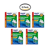 PACK OF 5 - Equate Sterile Multi-Purpose Contact Solution , 12 Oz, 2 Pk