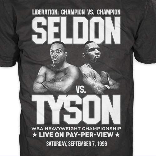 Amazon com: Seldon versus Tyson - Retro Heavyweight