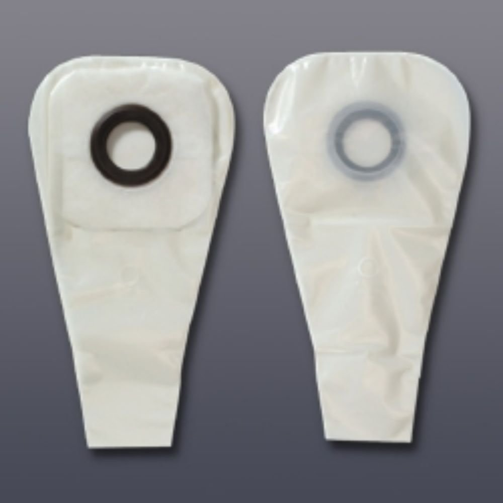Colostomy Pouch Karaya 5 One-Piece System 16'' Length 2-1/2'' Drainable #3276