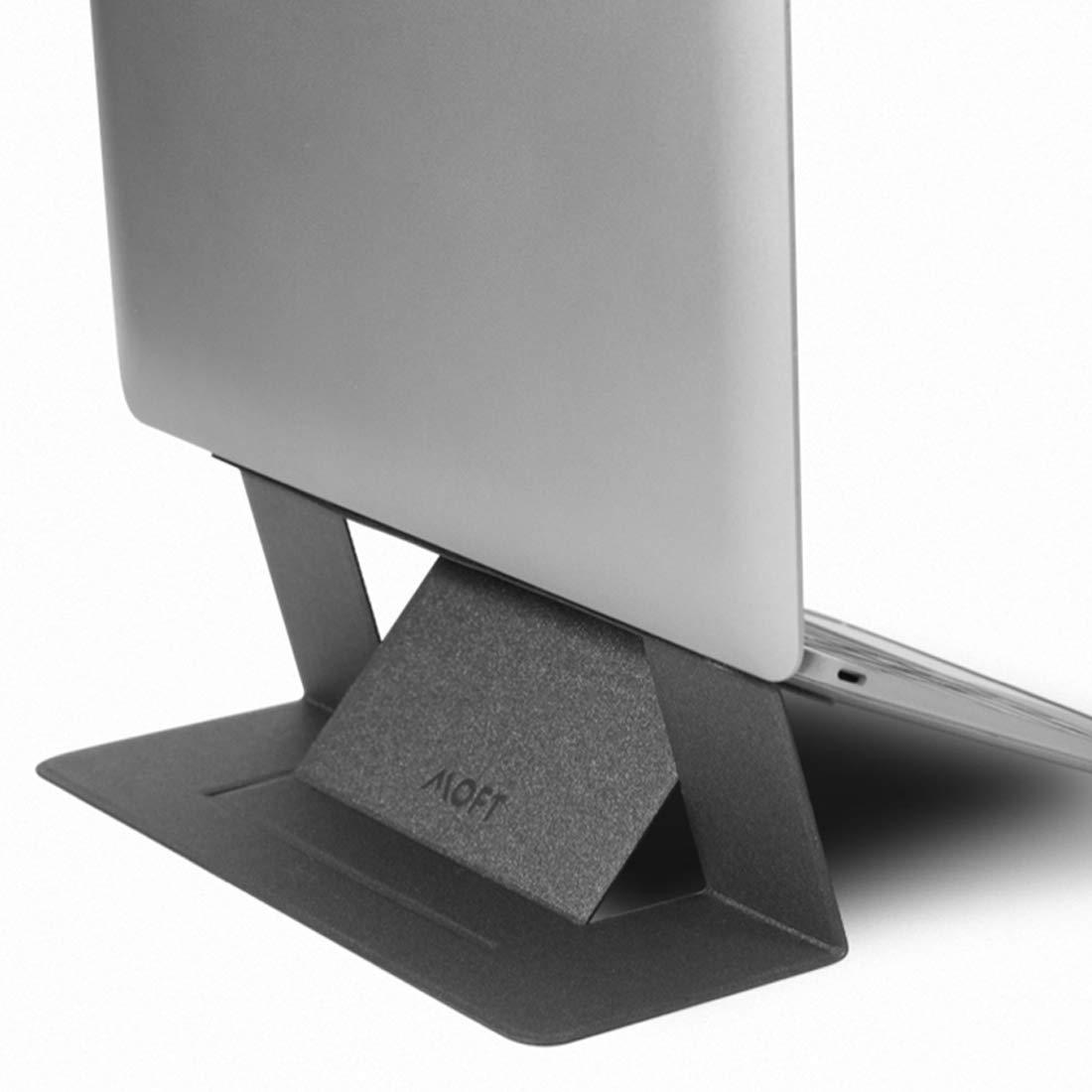 【正規代理店】MOFT ノートパソコンスタンド 超軽量/極薄 Macbook Pro/Air(スペースグレイ)