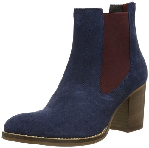 0f012b28f9633b Liebeskind Berlin LS5010 Damen Chelsea Boots Blau (midnight blue midnight  blue  camo)
