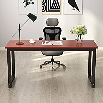 """Tribesigns Computer Desk, 63"""" Large Office Desk Computer Table Study Writing Desk for Home Office"""