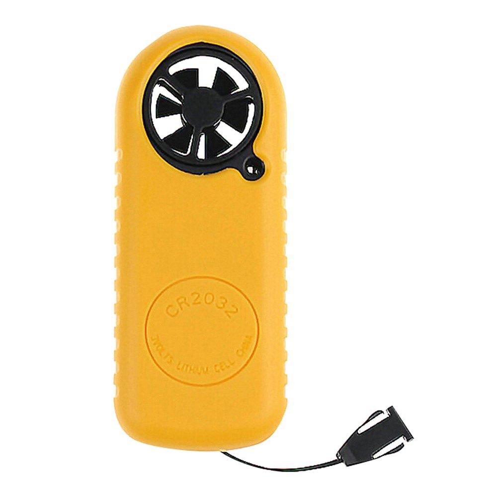 Joykit Digital Wind-Speed Backlight Airflow Gauge Meter Anemometer Thermometer