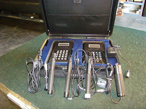 Lot of 2 SOLOMAT MPM 4100 Enviromental Monitoring System w/ 4 Probes & case from SOLOMAT