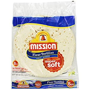 Mission, 10 Inch Burrito Flour Tortillas, 8 ct, 20 oz