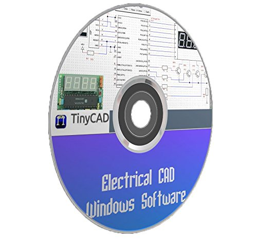 Amazon.com: Electrical CAD Drawing Circuit Diagrams Maker TinyCAD PC ...