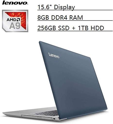 Amazon Com Lenovo Ideapad Flagship 15 6 Hd Laptop Pc Amd A9 9420 Dual Core 8gb Ddr4 256gb Ssd 1tb Hdd Amd Radeon R5 Graphics No Dvd Bluetooth 4 1 Webcam Wifi Hdmi Usb 3 0 Windows 10 Blue