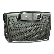 CHER F1 In-car Solar Energy Bluetooth Speaker Earphone Car Kit