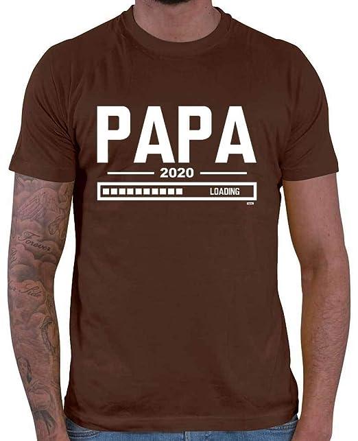 HARIZ - Camiseta para Hombre Papa Loading 2020 Papá Regalo ...