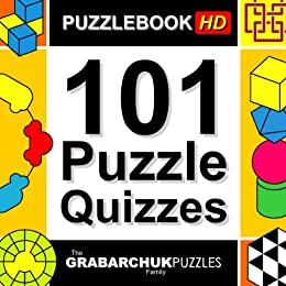 101 Puzzle Quizzes HD (Interactive Puzzlebook for Tablets) by [The Grabarchuk Family]