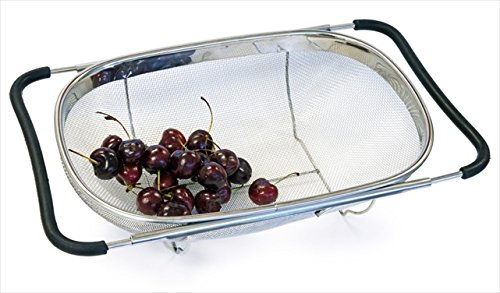 Amazon #DealOfTheDay: Culina Strainer Over-the-sink (Oval), Stainless Steel Fine Mesh Expandable